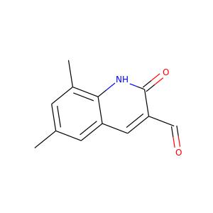 68 Dimethyl 2 Oxo 12 Dihydro 3 Quinolinecarbaldehyde 332883 19 9