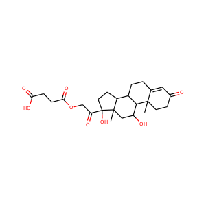 hydrocortisone acetate (50-03-3) - Chemical Safety, Models